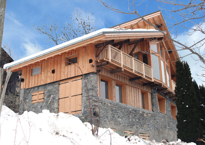 Renovation France La Plagne